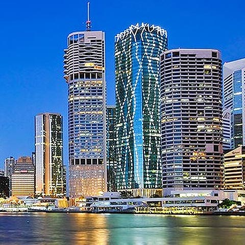 One One One Eagle Street in Brisbane - Fire Protection Of Steel - Permax